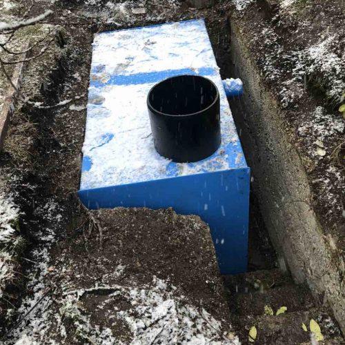 Die KS-Bluebox® wurde werkseitig an die Einbauverhältnisse vor Ort angepasst. Foto: Funke Kunststoffe GmbH
