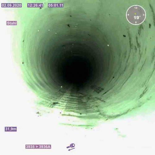 Die sanierte Leitung konnte nach dem Inlinereinbau wieder in Betrieb genommen werden. Foto: D&S Rohrsanierung