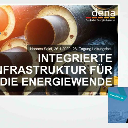"""Die Energiewende kann nur mit einem integrierten, sektorenübergreifenden Ansatz gelingen"", so Hannes Seidl, Head of Division Energy Systems and Energy Services bei der dena, in seinem Impulsvortrag. Foto: rbv"