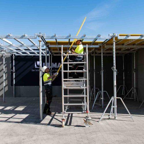 ONADEK kombiniert die Vorteile einer modularen Deckenschalung mit der Effizienz und Flexibilität einer konventionellen Deckenschalungslösung. Foto: ULMA Construction GmbH