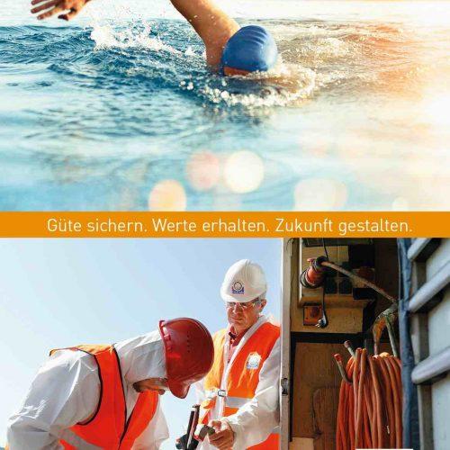 Der Jahresbericht informiert über die Entwicklung der Mitgliederzahlen und weitere Aktivitäten der Gütegemeinschaft Kanalbau. Abb.: Güteschutz Kanalbau