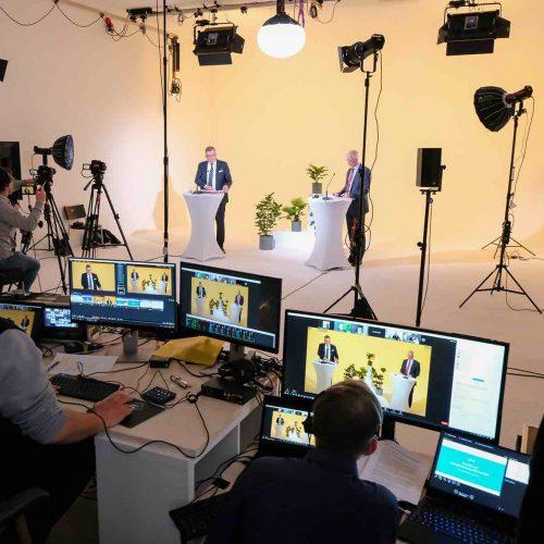 Online-Premiere: Die diesjährige Mitgliederversammlung des Rohrleitungsbauverbandes e. V. (rbv), Köln, fand am 23. April 2021 erstmalig als Webkonferenz statt. Foto: rbv