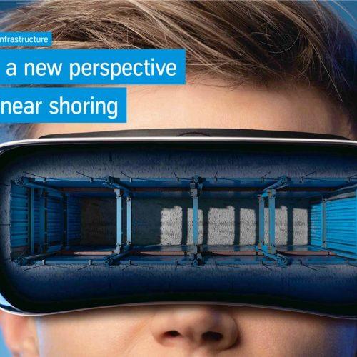 Verbau in einer neuen Dimension: Ausgestattet mit Tablet, Router und Virtual Reality Brillen können die Fachberater die Vorteile des einzigartigen e+s Linearverbaus für die Kunden im Beratungsgespräch erlebbar machen. Foto: thyssenkrupp Infrastructure